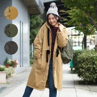 ◆商品について◆  ミリタリーコートにチチカカらしさをプラスしたロングコート! フードやポケットなど...