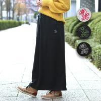 ◆商品について◆  ぽかぽか暖かい、楽ちんスカートが登場! 裏地がふわふわ裏起毛になっていて、防寒も...