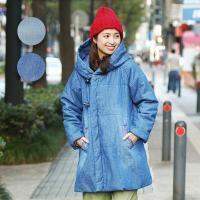 ◆商品について◆  ライトオンスのデニムに中綿入りの、この冬注目したいキルティングコート! ポケット...