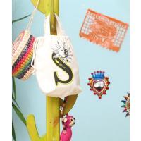 ◆商品について 巾着形の綿100%イニシャルトート☆イニシャルはA・K・M・R・S・Yの6種類限定で...