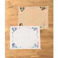 ◆商品について 食卓を華やかにしてくれるミラグロランチョンマット☆長方形でブルーとグリーンの2色が展...