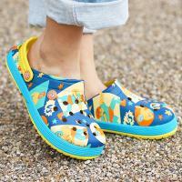 ◆商品について◆  POPなルチャ柄がプリントされたエスニックな雰囲気漂うサンダル。 サッと脱ぎ履き...