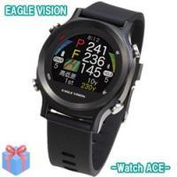 ゴルフナビ 腕時計型 イーグルビジョン ウォッチ ACE EV-933 GPSナビ 朝日ゴルフ