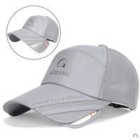 帽子 メンズ レディース キャップ ハット メッシュ ワークキャップ 野球帽 伸縮可UVカット鏡付 通気性抜群 日よけ帽子 刺繍 アウトドア 春夏 新作 送料無料