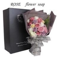 商品詳細 ソープフラワーは、石鹸で作られている花びらのフラワーアートです。 生花やプリザーブドフラワ...