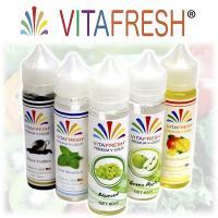 電子タバコ VITAFRESH ビタフレッシュ 大容量 60ml ビタミン入り 電子タバコ リキッド