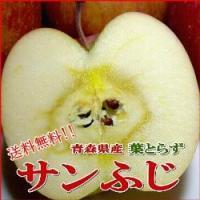 リンゴは赤いリンゴというのが一般的ですが、このハッピーリンゴは葉に隠れてあまり赤くならなく流通するリ...
