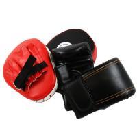 ボクシンググローブ&パンチングミットの×2個のセット。  衝撃をしっかり吸収!! 確実にパンチを捉え...