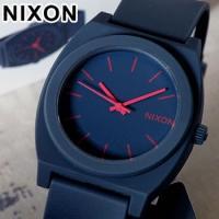 ニクソン NIXON タイムテラー 腕時計 メンズ レディース ユニセックス  ネイビーで統一された...