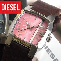 DIESEL ディーゼル メンズ 腕時計 ディーゼル DIESEL 革ベルト クリフハンガー   D...