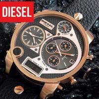 DIESEL ディーゼル メンズ 腕時計 ディーゼル DIESEL ブラック×ピンクゴールド ミスタ...