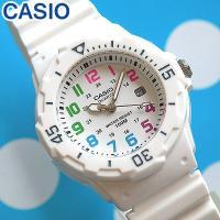 CASIO カシオ デジタル 腕時計 時計 ホワイト マルチカラー かわいい レディース  <<仕様...