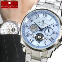クロノグラフ 腕時計 メンズ サルバトーレマーラ メンズ 腕時計 スーツ  <<主な仕様>> ●クオ...