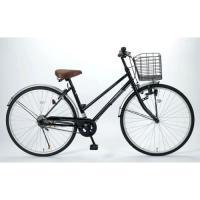 シンプル&ベーシック! デザインの良い定番シティサイクル!■シンプルイズベストなカラーとスタ...