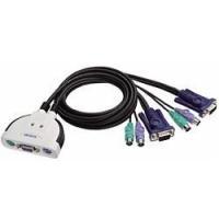 ■PS/2タイプ一体型KVMスイッチ■PC/AT互換機対応NOTEPCなどではご使用できません■ゲー...