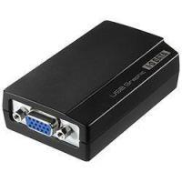 USB接続でマルチディスプレイ環境を実現できる外付USBグラフィックアダプターの、アナログ出力専用モ...