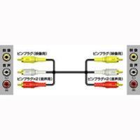 ■ピンプラグ×3←→ピンプラグ×3■Hi-FiビデオをステレオAVテレビに接続し再生する 場合に適し...