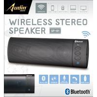Bluetooth ステレオスピーカー ブラック スピーカー ワイヤレス パソコン USB 通話【☆】 /ステレオスピーカーKK-00495