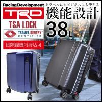 商品名 TRD 4輪式縦型キャリーケース 38L  サイズ 約 横幅38×高さ52×奥行25 cm ...