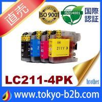 あすつく 対応   (対応インク) LC211BK LC211C LC211M LC211Y  対応...