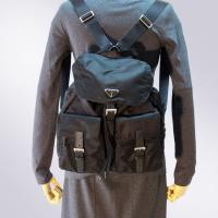 PRADA プラダ リュック です。懐かしく心ときめくロマンティックなバッグです。20年前、爆発的ヒ...