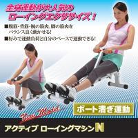 腹筋・背筋・腕の筋肉・脚の筋肉をバランス良く動かせる! 好みで運動負荷とスピードを変えられる運動はロ...