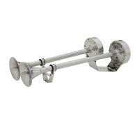 ■2連電子マリンホーン ■SN-410D ■材質:オールステンレス ■全長:415/350mm ■付...