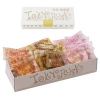 東京ラスク人気の味で組み合わせました。ひとつの箱にいろいろ入って、みんなで楽しめます。 種類も豊富で...
