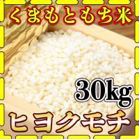 九州熊本県産のもち米ヒヨクモチ精白米  産地、九州熊本県 容量、30kg 5kg6個 品種、ヒヨクモ...