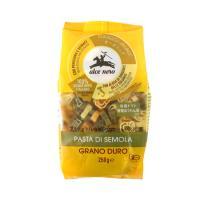 100% イタリア産有機デュラム小麦のセモリナを使用。アルファベットの形をした、プレーン・トマト・ほ...