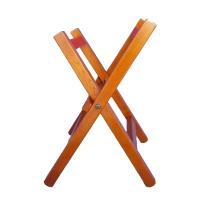 締太鼓を立って打つ時に使う、木製の立奏用台です。組み立てと収納が楽なエックス型の台となっており、持ち...