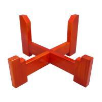 締太鼓用木製座台  締太鼓を座って打つ時に使う、木製の座奏用台です。組み立てと収納がとても楽な十字型...
