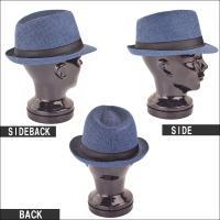 中折れハット メンズ 帽子 ペーパーハット 小物 キレイめ きれいめ メンズファッション 通販