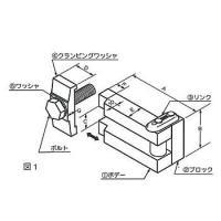 M16×90 イージークランプボールト マテックス 1本のボルトで4種類の取り付けが出来ます。(数種...