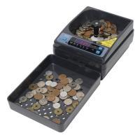 硬貨計算機・硬貨選別機・コインカウンター SCC-10  電源無し(電池式単3電池6個)でどこでも計...