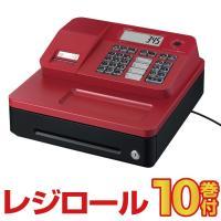 レジスター カシオ  SR-G3 レッド レジロール10巻付 Bluetooth対応 casio
