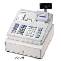SHARP 電子レジスター  商品名:シャープ レジスター本体 XE-A407W ホワイト  物販店...