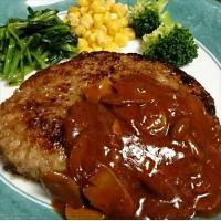 ■あの人気のかわよし特製「松阪牛」の入ったハンバーグ!! 調理方法簡単!解凍後袋のまま5分ボイルして...