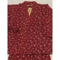 素朴な雰囲気の女性用作務衣です。  毎日のお仕事やくつろぎタイム部屋着としてお気軽にどうぞ♪  綿1...
