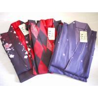 着物二部式着物 かわいい 花柄 おしゃれ 和装 M〜L プレゼント デザイン 洗えるきもの