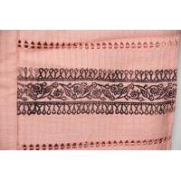 実 正絹 羽織 コート地 紬地 ピンク レディースファッション 着物 浴衣 和装履物 草履