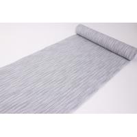 【男物浴衣反物】 白織(HAKUSEN)のしじら織の浴衣反物です。  麻が23%入っていて、涼感もバ...
