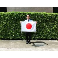【基本仕様】 ■国旗材質:テトロン(ポリエステル100%) ■国旗寸法:50×75cm  ■国旗仕上...