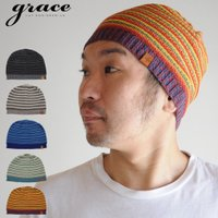 春夏でも涼しく被れるよう通気性の良い透かし編みのサマーニット帽。軽くて締め付け感がなくゆったりとした...