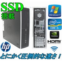 爆速新品SSD+新品HD1TB+HDMI端子搭載!Office2013!(Windows 7) HP...