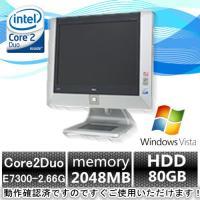 超激安高性能/17型液晶一体型(Windows VISTA) NEC一体型PC MF-6 Core2...