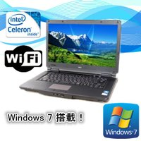 中古ノートパソコン(Windows 7) NEC VersaPro VK19EX-D Celeron...
