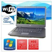 中古ノートパソコン(Windows 7) NEC VersaPro VK22EA-B Celeron...