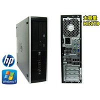 新品2TB搭載/Windows 7 Pro/Offoce2013/無線LAN付/HP 6000 Pr...