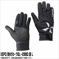 シマノ XEFO・防水グローブ GL-299Q ブラック L 20%OFF グローブ 防水ブーティー...